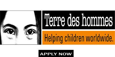 Terre des hommes - 3 Job Position (APPLY ONLINE)