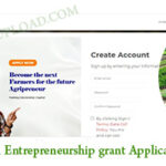 Agricultural Entrepreneurship grant Application Portal/Update