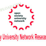 Open Society University Network Research Hub 20201