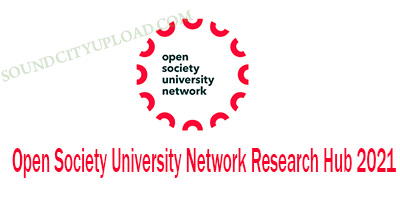 Open Society University Network Research Hub 20201