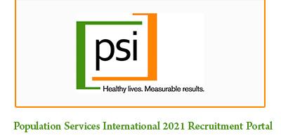 Population Services International 2021 Recruitment Portal (5 Job Vacancy)