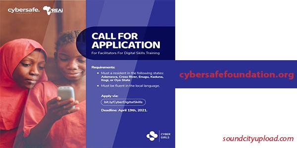 Cybergirls Digital Skills Trainers Programme for Nigerians