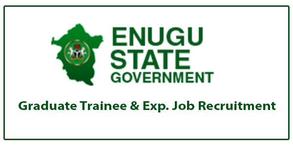Enugu State Government Graduate Trainee & Exp. Job Recruitment