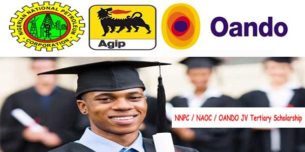 NNPC / NAOC / OANDO JV Tertiary Scholarship