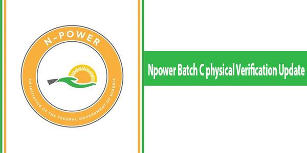 Npower Batch C physical Verification Update