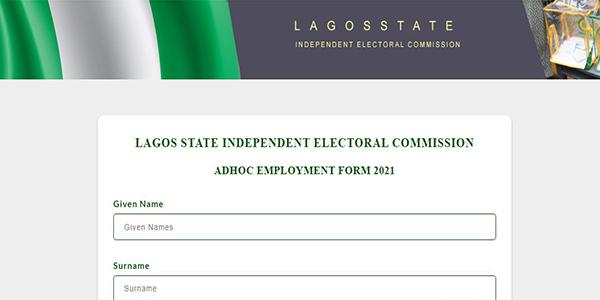 Lagos State Inec Recruitment 2021 Application Portal Now Open