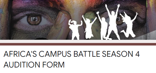 Africa Campus Battle Audition Form Season 4