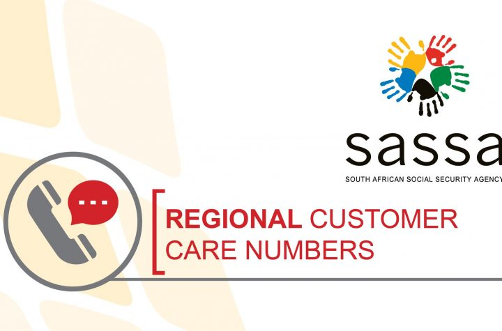 SASSA Regional Call Numbers