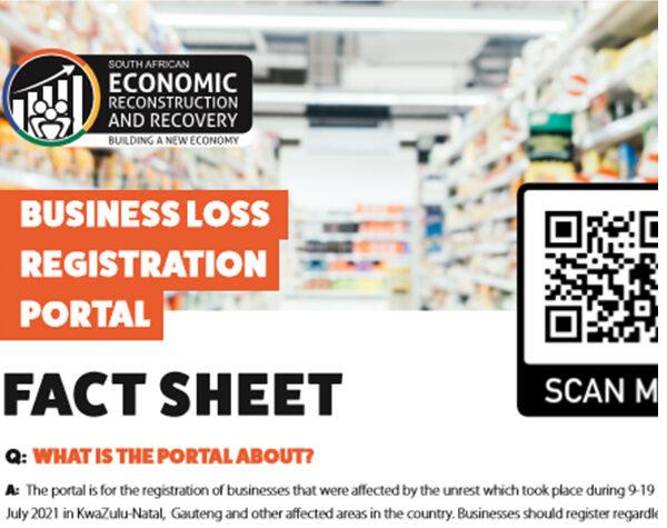 Business Loss Registration Portal