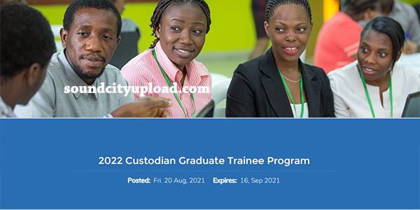 Custodian Investment Plc Graduate Trainee Programme
