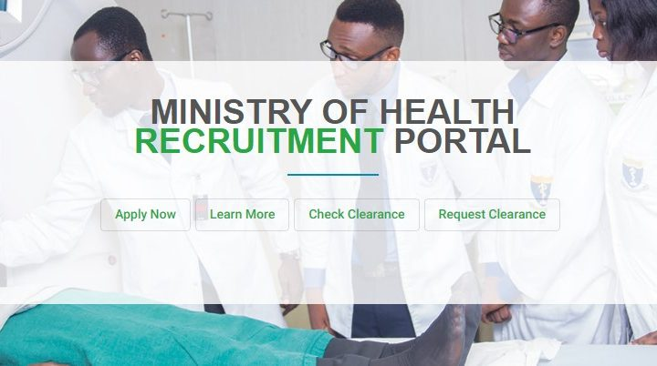GAHNA MINISTRY OF HEALTH RECRUITMENT PORTAL