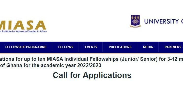 MIASA Fellowships 2022/2023