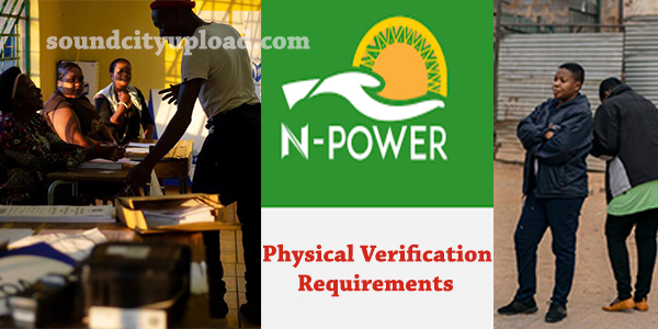 Npower Physical Verification Requirement